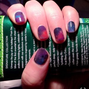 3/$10✨Galactic Jamberry Nail Wrap Manicure